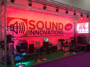 stage lighting example - BETT show