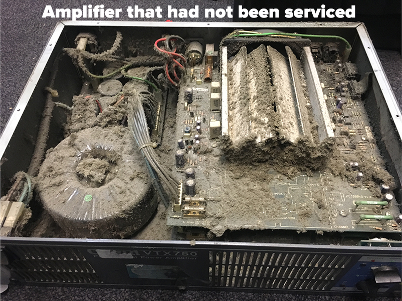 AV servicing