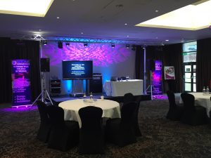 audio visual system for conference