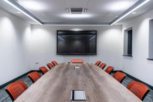 AV system in boardroom