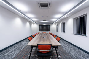 AV system in board room