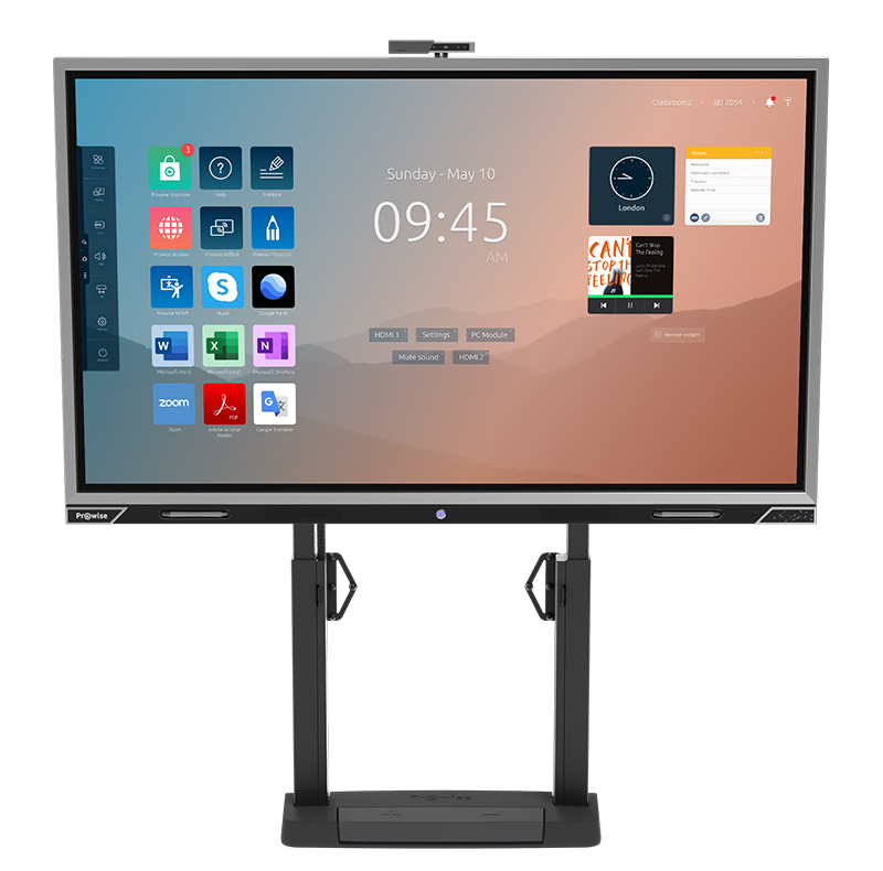 Prowise touchscreen to be used for wireless presentation